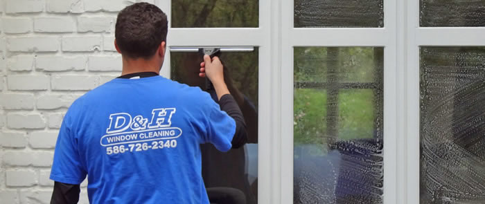 Window Cleaning, Sterling Heights, Macomb County